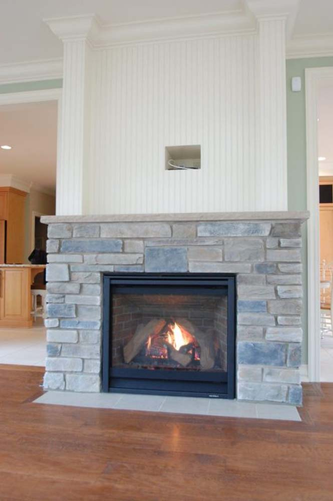 Sunroom Addition With Fireplace 3